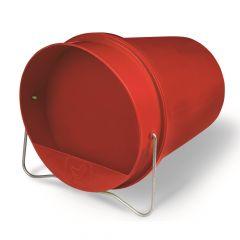 Drinkemmer 6L Rood Kunststof