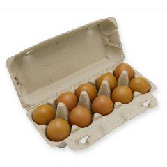 Eierdoos voor 10 Large kippeneieren GROEN