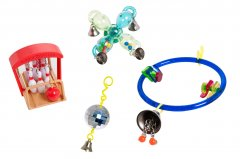 Karlie Vogelspeelgoed Wiel Met Belletje Activity Toy, 9 X 3 Cm