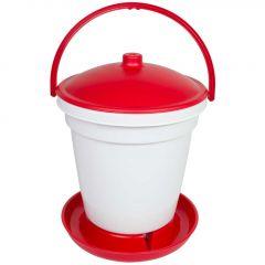 Automatische Drinkemmer 18 Liter - Rood