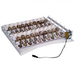 Keersysteem met extra Roosters voor 120 Kwarteleieren
