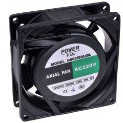 Powerfan Ventilator 80x80x25mm