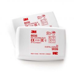 3M P3 filter 6035  (2 stuks)