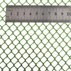 Plastic Gaas 9x9mm Zeskant - Rol 25x1m