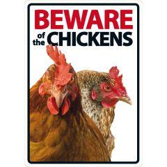 Waakbord: Beware of the Chickens