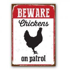 Waakbord: Chicken On Patrol