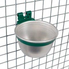Aluminium Voer-/Drinkbakje Rond 10cm