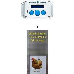 Chickenguard Premium + Aluminium Deur