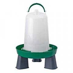 Bajonetdrinkbak op Poten 1,5L Groen