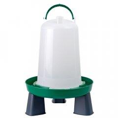 Bajonetdrinkbak op Poten 3L Groen