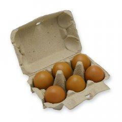 Eierdoos voor 6 Large kippeneieren