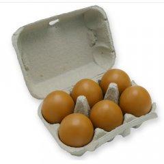 Eierdoos voor 6 eieren Jumbo