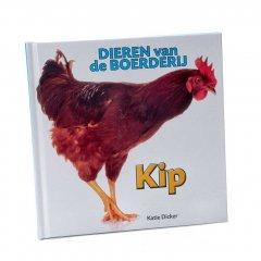 Kinderboek: Dieren van de Boederij - Kip