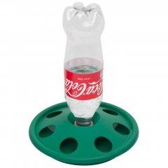 Kuikendrinkbak voor PET Flessen - Groen