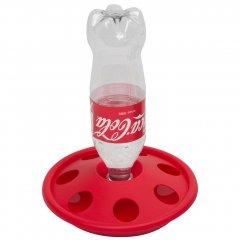 Kuikendrinkbak voor PET Flessen - Rood
