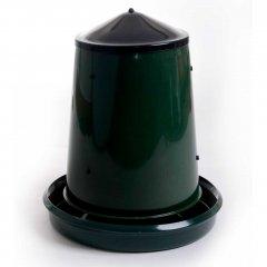 Voerhopper: 25kg  - Groen deksel