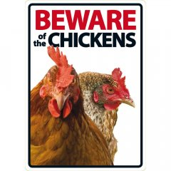Waakbord: Beware of the Chickens