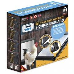 Combi: Chickenguard Premium + Zelfsluitende Deur