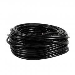 Zwarte PVC slang 7 mm