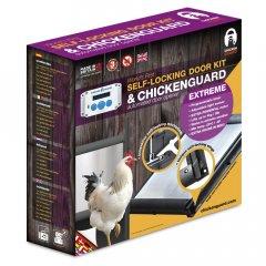 Combi: Chickenguard Extreme + Zelfsluitende Deur