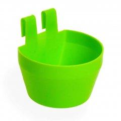 Voer / Drinkbakje Kunststof Licht Groen