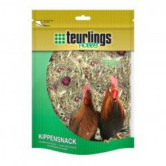 Kippensnack: Lucerne met Tuinkruiden